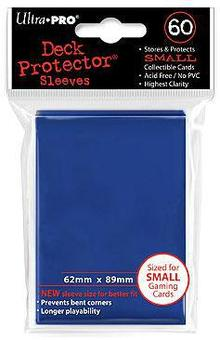 Ultra Pro Yu-Gi-Oh! Size Small Blue Deck Protectors (60 Count Pack)