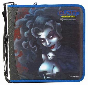 Ultra Pro Zippered Gaming 3-Ring Album with Vampire Art (Great for Magic) - Regular Price $19.99 !!!