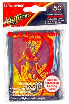 Ultra Pro Kaijudo Infernus Standard Deck Protectors 120 Pack Case (50ct Packs - Great for Magic)!