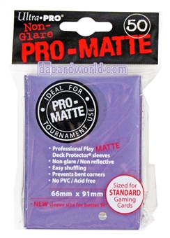 Ultra Pro Purple Pro-Matte Deck Protectors (50 count pack)