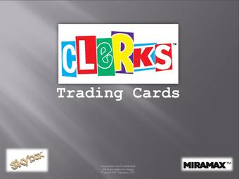 Clerks Trading Cards Box (Upper Deck 2017) (Presell)