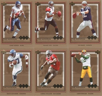 2006 Upper Deck National Exclusive Football Promo Set