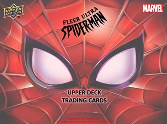 Fleer Ultra Spider-Man Trading Cards 6-Box Case (Upper Deck 2017) (Presell)