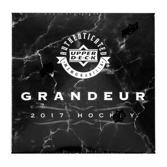2017 Upper Deck Grandeur Hockey Coin Collection Box