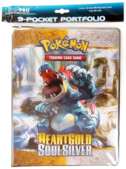 Ultra Pro Pokemon HeartGold SoulSilver 9-Pocket Portfolio (10 Pages)
