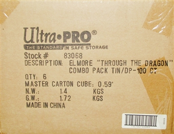 Ultra Pro Elmore Through the Pass Deck Vault & Deck Protectors Combo 6ct Case 100ct.