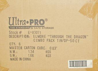 Ultra Pro Elmore Through the Pass Deck Vault & Deck Protectors Combo 6ct Case (50ct. Box)