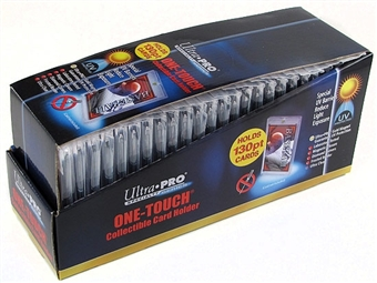Ultra Pro 130pt. One Touch Collectible Card Holders (25 Count Box)