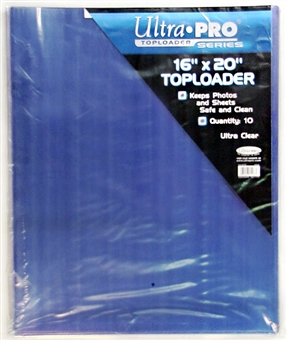 "Ultra Pro 16""x20"" Toploaders (10 Count Pack)"