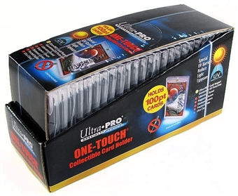 Ultra Pro 100pt. One Touch Collectible Card Holders (25 Count Box)
