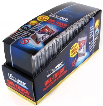 Ultra Pro 180pt. One Touch Collectible Card Holders (20 Count Box)
