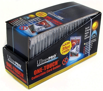 Ultra Pro 35pt. One Touch Collectible Card Holders (25 Count Box)