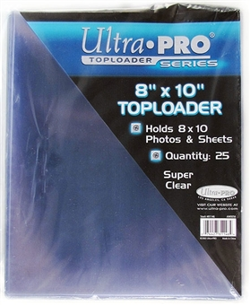 Ultra Pro 8x10 Toploaders (25 Count Pack)
