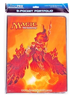 Magic the Gathering Ultra Pro 9-Pocket Binder - Akroma, Angel of Fury