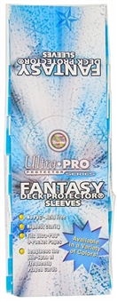 Ultra Pro Fantasy Black Standard Deck Protectors Box - 15 Packs