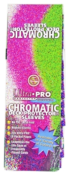 Ultra Pro Chromatic Red Deck Protectors Box - 15 Packs