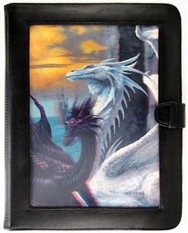 Ultra Pro Ciruelo Dragons Lenticular Window 9-Pocket Portfolio (10 Pages)