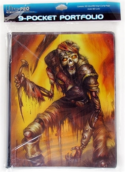 Ultra Pro Magic Monte Death March 9-Pocket Portfolio (10 Pages) - Regular Price $9.99 !!!