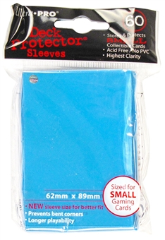 Ultra Pro YU-GI-OH Small Light Blue Deck Protectors 60 Count Pack