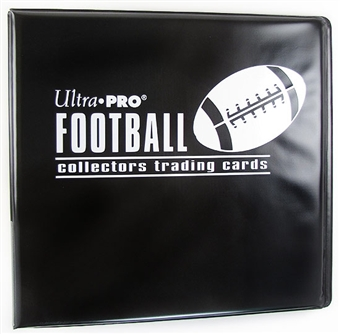 "Ultra Pro 3"" Black Football Card Collectors Album"