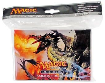 Ultra Pro Magic the Gathering Knights Vs. Dragons Duel Deck Box Combo - Reg. Price $9.99 !