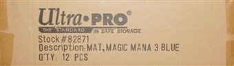 Ultra Pro Magic the Gathering Blue Frost Titan Playmat Case of 12