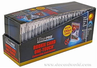 Ultra Pro 130pt. One Touch Rookie Card (25 count box)