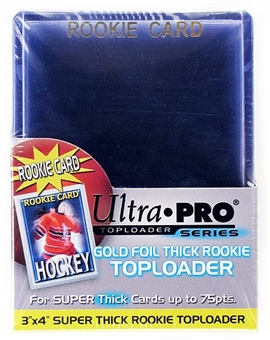 Ultra Pro 3x4 Super Thick 75pt. Rookie Card Toploaders (25 Count Pack)