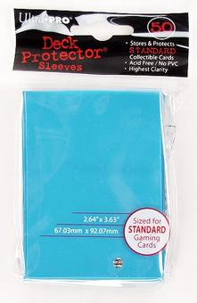 Ultra Pro Light Blue Deck Protectors (50 Count Pack)