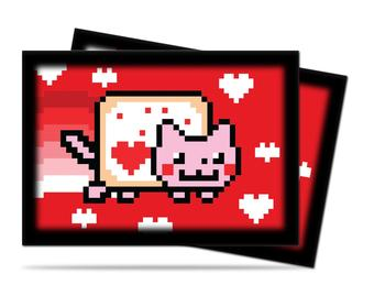 Ultra Pro ValentNyan Cat Small-Size Deck Protectors 10-Pack Box (600ct)