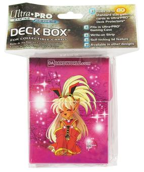 Ultra Pro Wonder Witch Deck Box by Sonny Strait (60 Count Case)