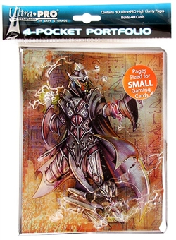 Ultra Pro Monte Warlock Small Card 4-Pocket Portfolio (10 Pages)