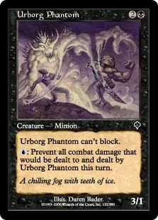 Magic the Gathering Invasion Single Urborg Phantom Foil