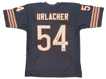 Brian Urlacher Autographed Chicago Bears Football Jersey (Fanatics)