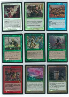 Magic the Gathering Urza's Legacy Complete Set FOIL NEAR MINT (NM)