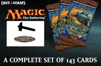 Magic the Gathering Urza's Legacy A Complete Set NEAR MINT / SLIGHT PLAY (NM/SP)