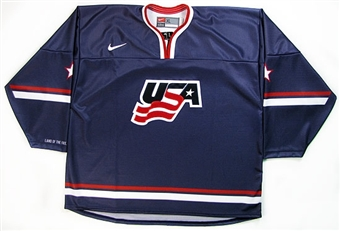 USA Hockey Nike Swift Replica Away Jersey (Men's Large)