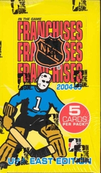 2004/05 In The Game Franchises U.S. East Hockey Hobby Box