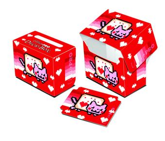 Ultra Pro ValentNyan Cat Full View Side Load Deck Box (Case of 60)