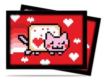Ultra Pro ValentNyan Cat Standard Sized Deck Protectors (50 ct) - Regular Price $4.49 !!!