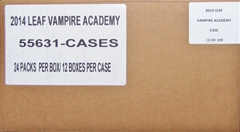 Vampire Academy: Blood Sisters Hobby 12-Box Case (Leaf 2014)