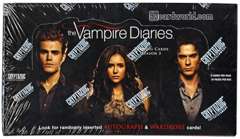 The Vampire Diaries Season 3 Trading Cards Box (Cryptozoic 2014)
