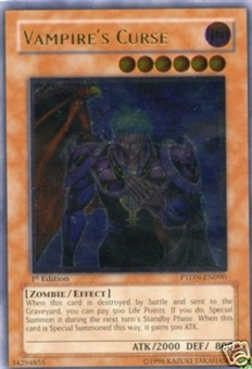 Yu-Gi-Oh Phantom Darkness Single Vampire Curse Ultimate Rare