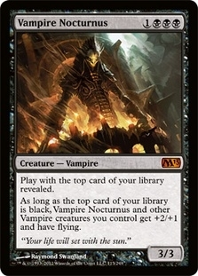 Magic the Gathering 2013 Single Vampire Nocturnus - NEAR MINT (NM)