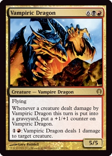 Magic the Gathering Archenemy Single Vampiric Dragon UNPLAYED (NM/MT)