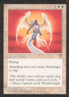 Magic the Gathering Visions Single Archangel - SLIGHT PLAY (SP)