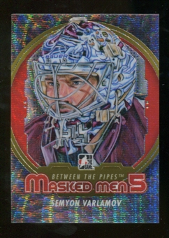 2012/13 In the Game Between The Pipes Masked Men V Silver #MM50 Semyon Varlamov /50