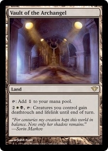 Magic the Gathering Dark Ascension Single Vault of the Archangel UNPLAYED (NM/MT)