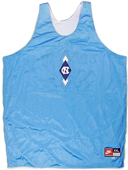 Vince Carter North Carolina Game Used Practice Jersey (1996/97)