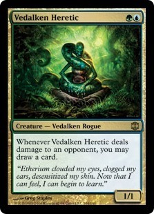 Magic the Gathering Alara Reborn Single Vedalken Heretic - NEAR MINT (NM)